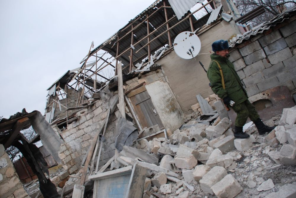 Las devastadoras consecuencias de los ataques ucranianos contra Donetsk