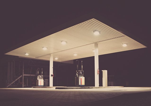 Una gasolinera (imagen referencial)