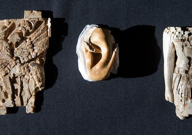 Reliquias asirias (imagen referencial)