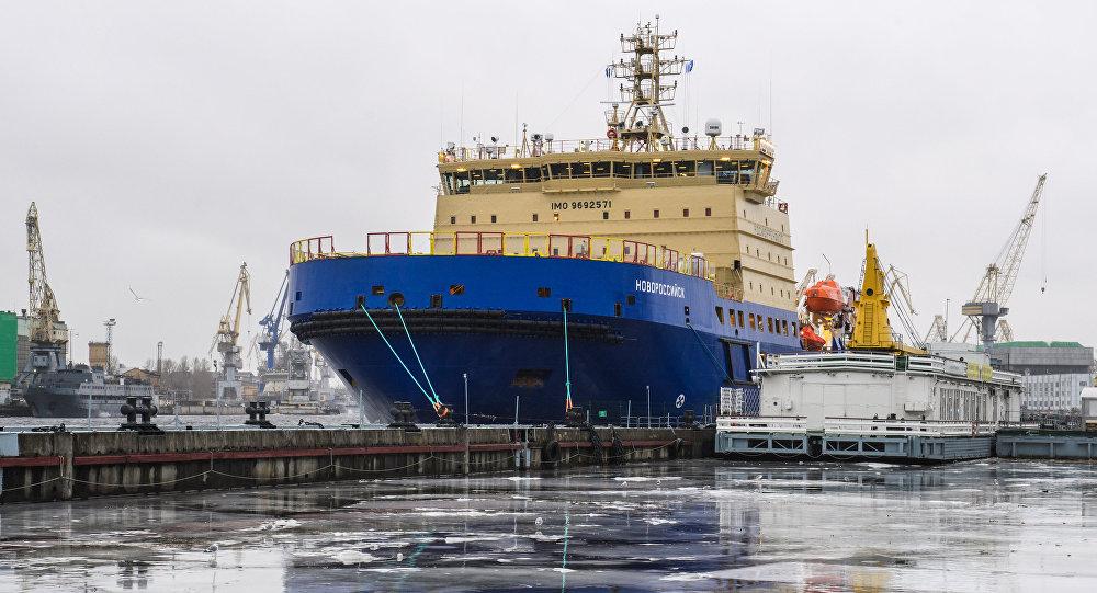 El rompehielos diesel-eléctrico ruso proyecto 21900 Novorossiysk
