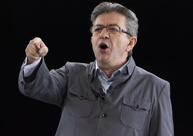 El líder de la Francia Insumisa, Jean-Luc Mélenchon