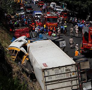 Accidente de tránsito (Archivo)