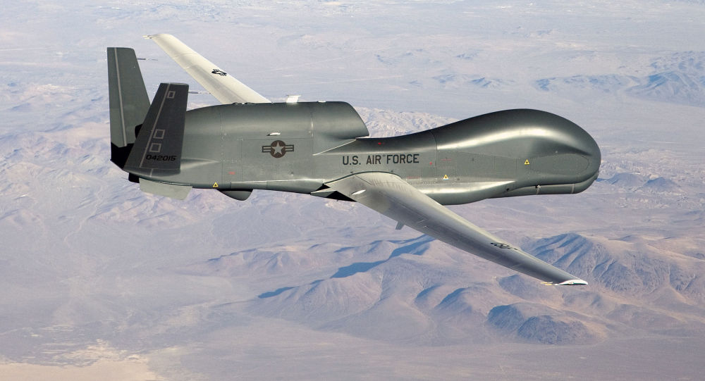 Dron RQ-4 Global Hawk (archivo)