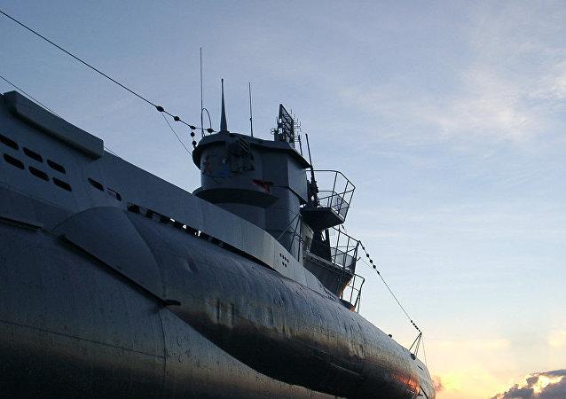 Un submarino alemán
