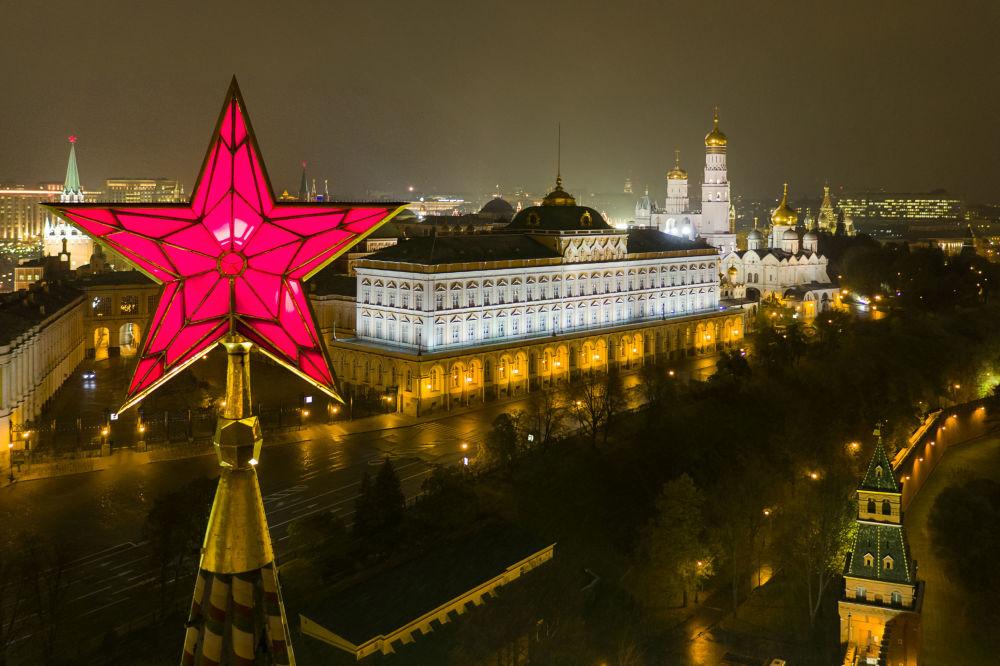La capital de Rusia, Moscú