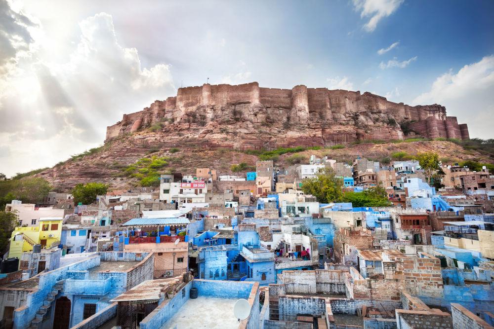 Jodhpur, la ciudad en el estado indio de Rajastán