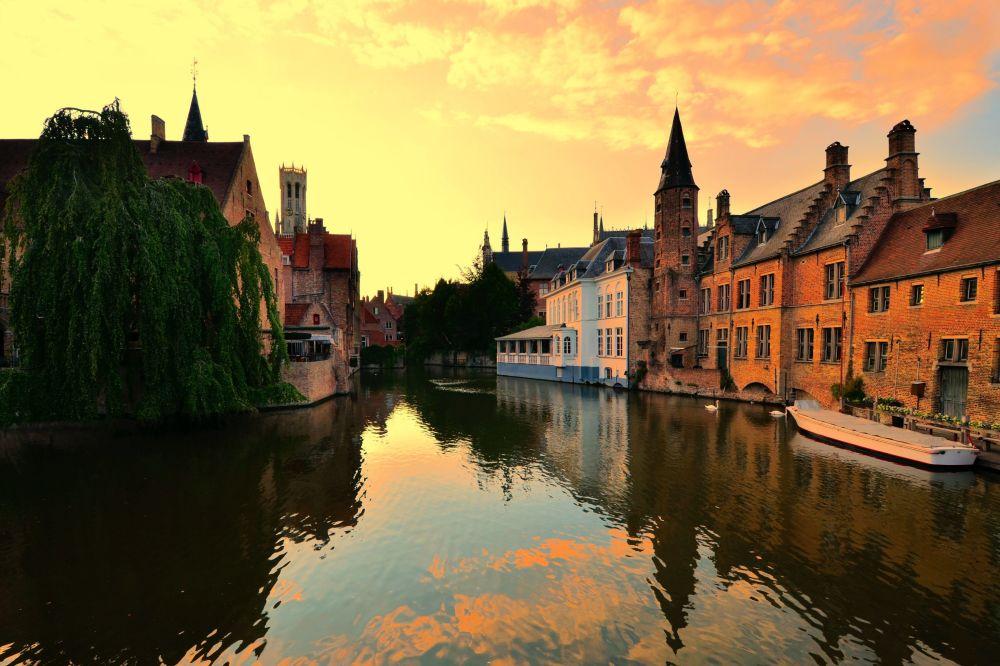 Brujas, capital de la provincia belga de Flandes Occidental