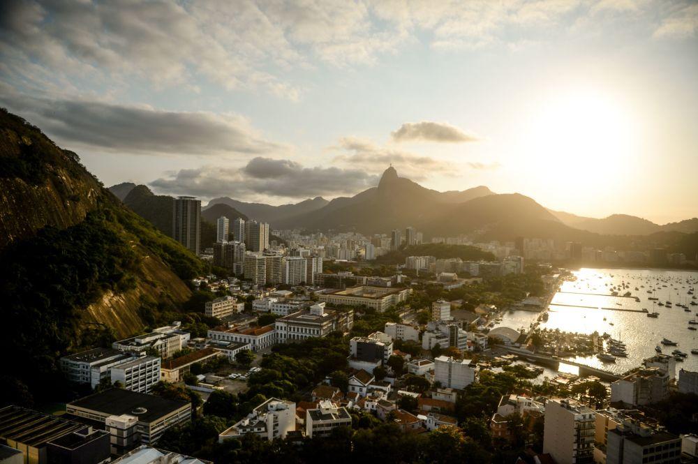Río de Janeiro, una de las ciudades más grandes y la antigua capital de Brasil