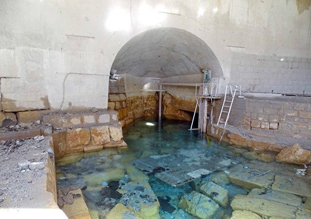 Dañada instalación de bombeo del valle Wadi Barada