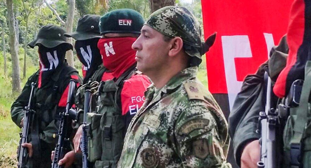 Fredy Moreno, soldado colombiano secuestrado por los guerrilleros del ELN