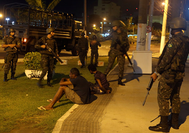 La situación en la ciudad brasileña de Vitória