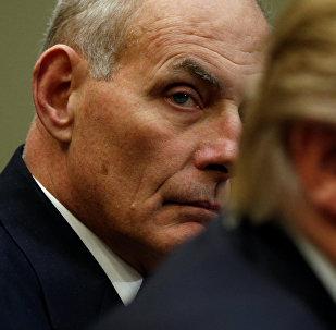 John Kelly, el secretario del Departamento de Seguridad Nacional de EEUU