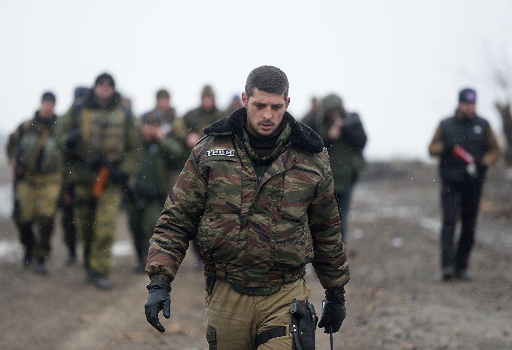 El fallecido comandante de Donetsk Mijaíl Tolstij, en fotos