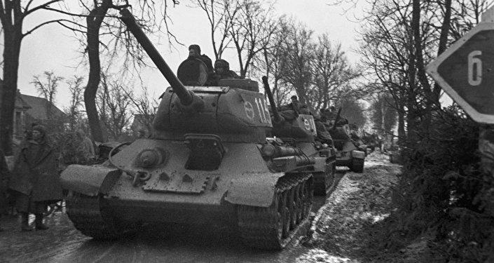Tanques del Ejército Rojo, 1944