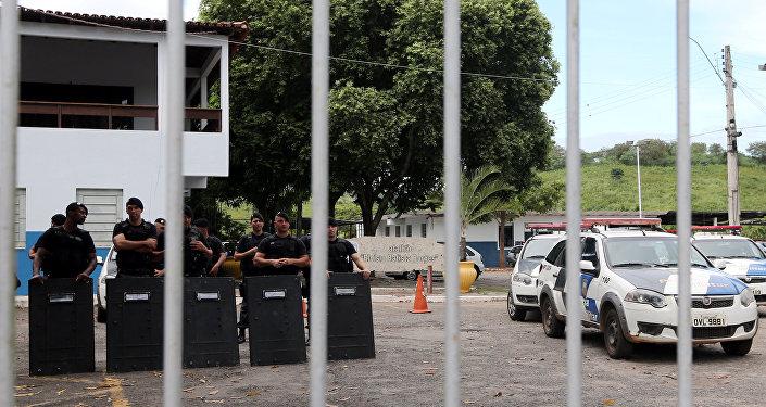 Policía brasileña (archivo)