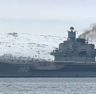 Portaviones Almirante Kuznetsov vuelve a casa