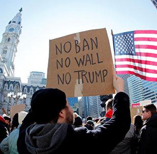 Protestas contra el decreto migratorio de Donald Trump