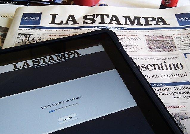 La Stampa, periódico italiano