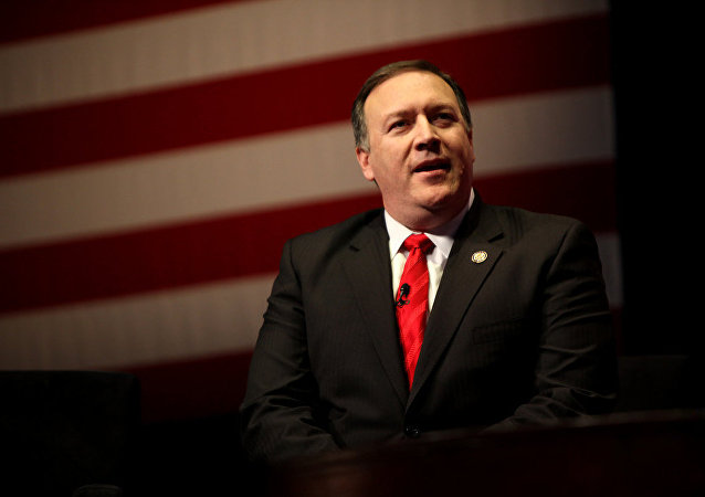Mike Pompeo, director de la CIA