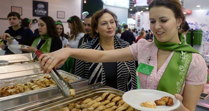Exposición internacional Prodexpo - 2017 en Moscú.
