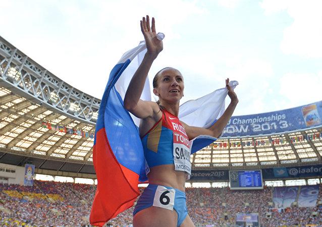 María Savinova, atleta rusa