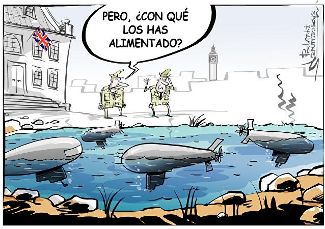 Submarinos maltratados