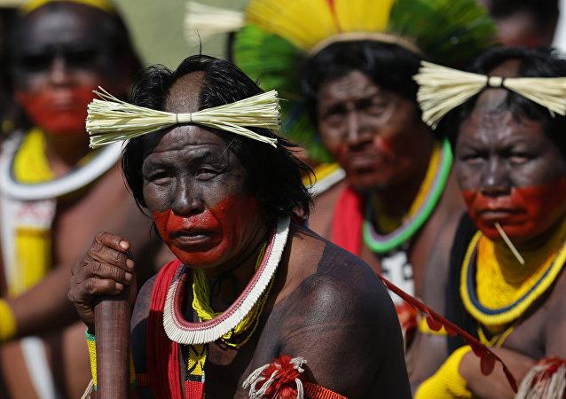 Indígenas de Amazonía