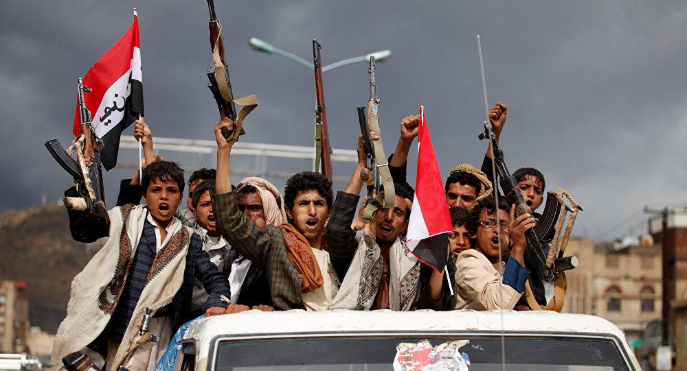 Partidarios de los hutíes en Yemen (archivo)