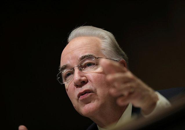 Tom Price, nominado secretario de Salud y Servicios Humanos de EEUU