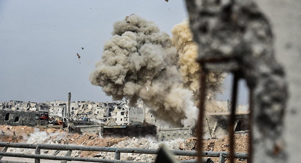 Bombardeos de aviones israelíes en Siria. Irán contra terrorismo