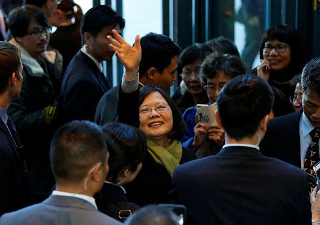 La presidenta taiwanesa Tsai Ing-wen