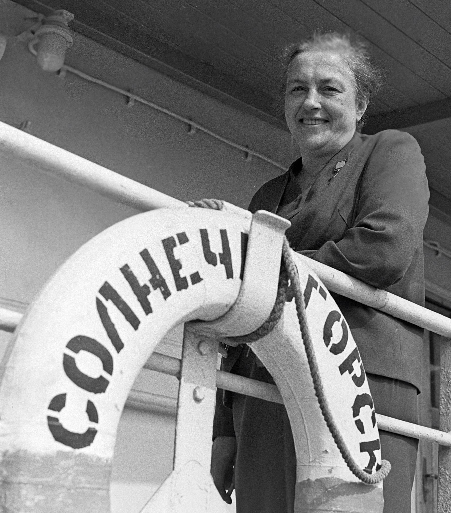 Lyudmila Pavlichenko, héroe de la Unión Soviética