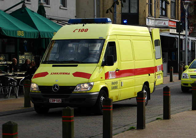 Ambulancia belga (archivo)