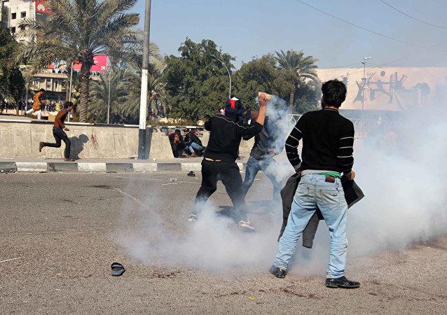 Enfrentamientos en Bagdad