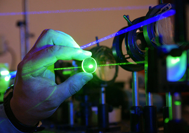Laboratorio de mediciones láser del Instituto de Sistemas de procesamiento de la imagen en Samara, Rusia