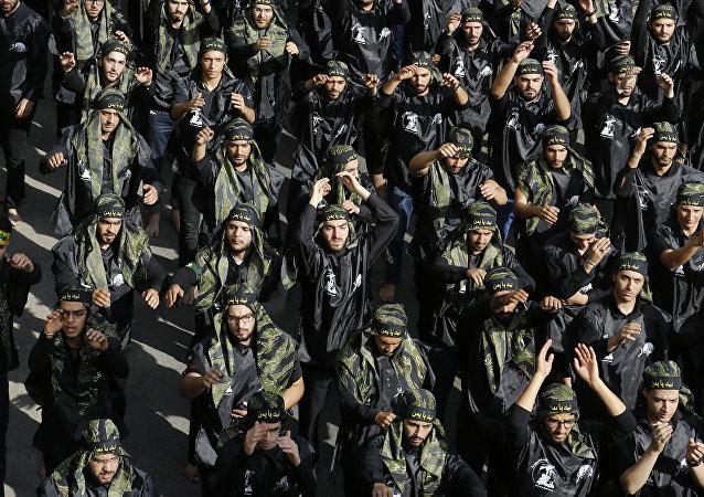 Milicias de Hizbulá (archivo)