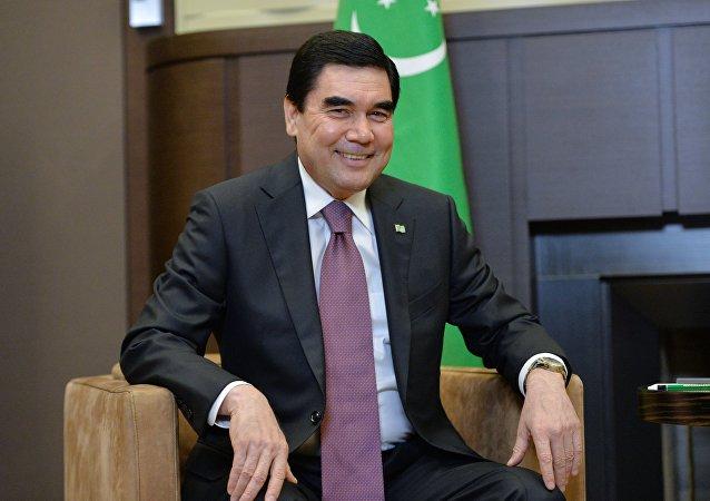 Gurbangulí Berdimujamédov, presidente reelegido de Turkmenistán