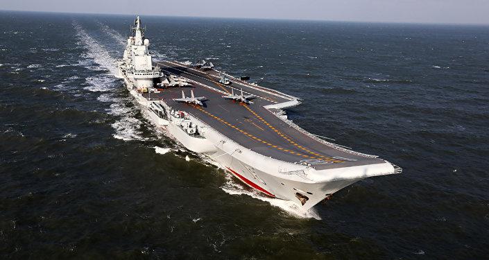 El primer portaviones de China, el Liaoning (archivo)