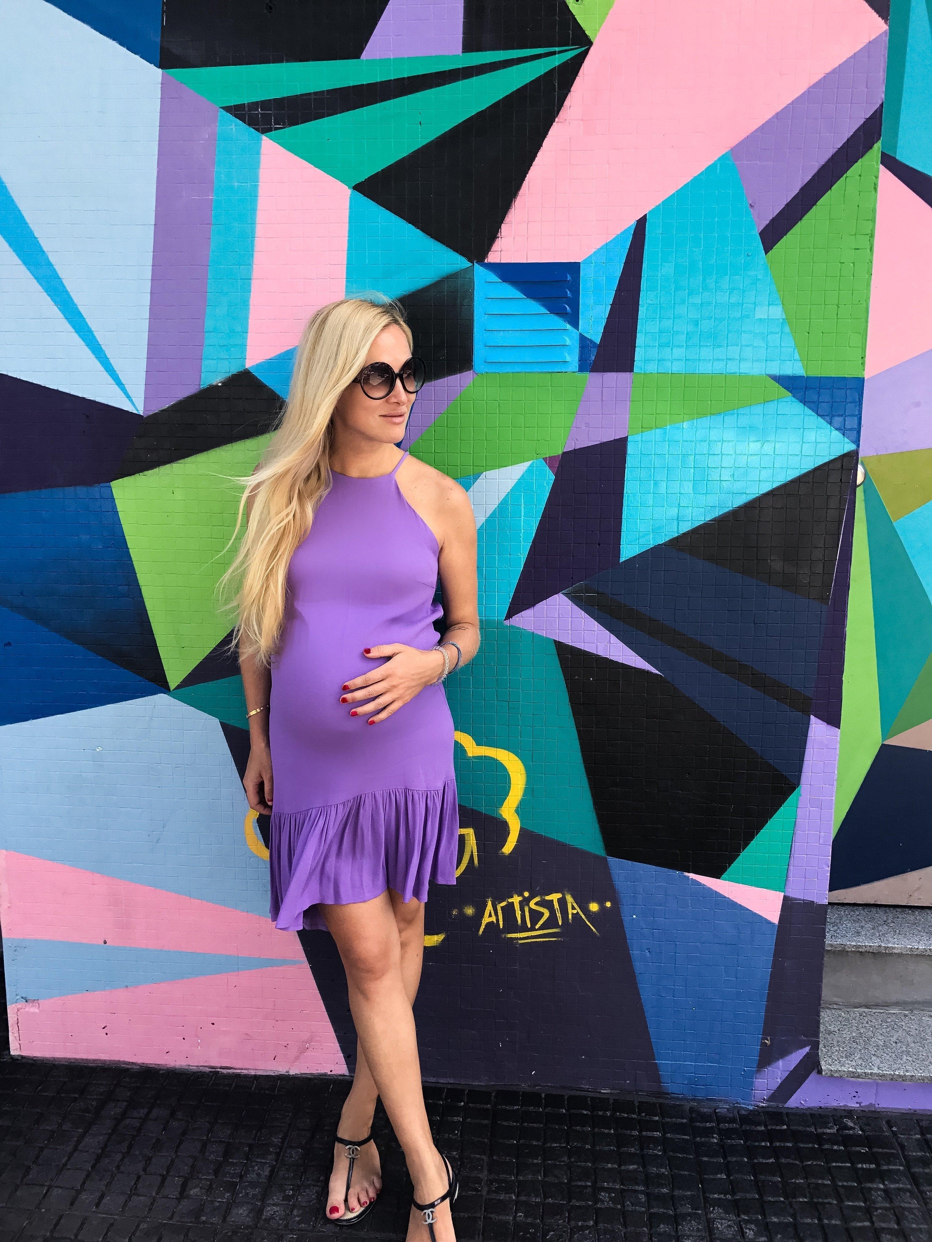 Ksenia Malina en Buenos Aires