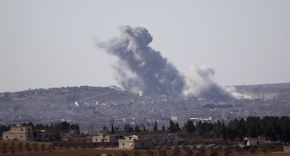 Situación en el norte de Siria (ciudad de Al Bab)