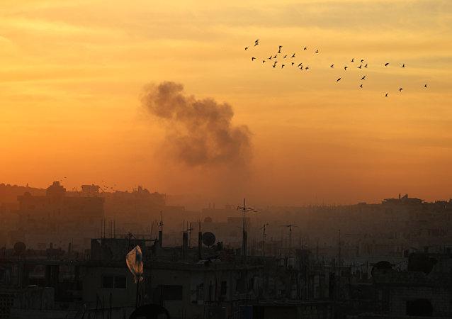 Situación en la ciudad siria de Deraa (archivo)