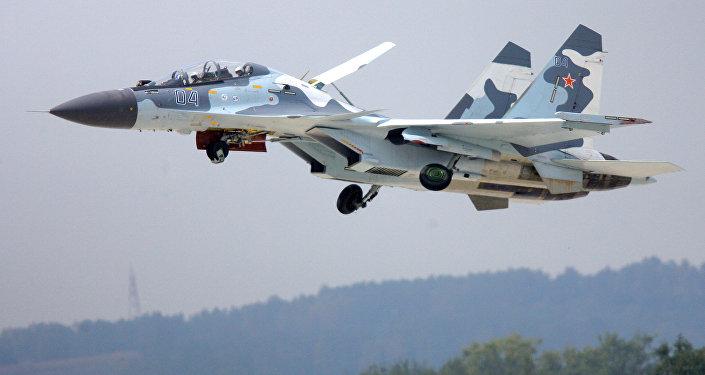 Caza ruso Su-30MKI