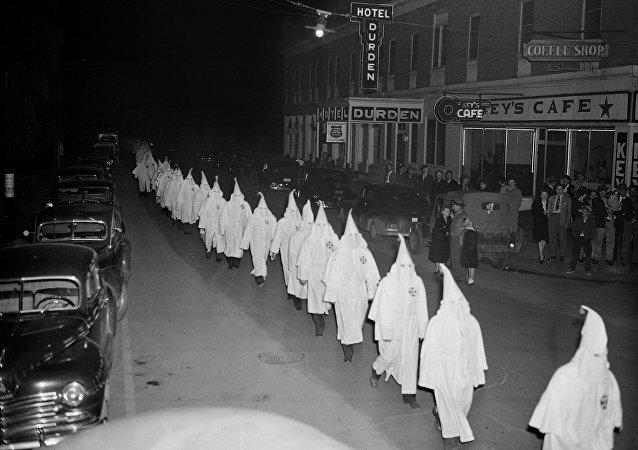 Miembros de Ku Klux Klan, 1948