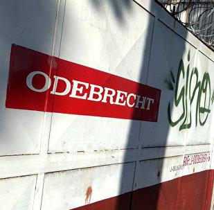 Logo de la compañía Odebrecht
