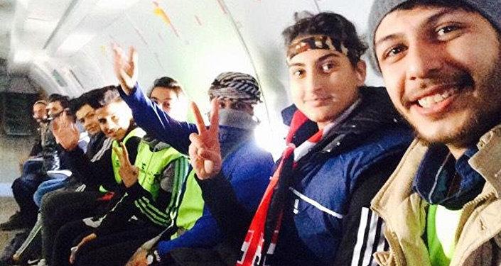 Jóvenes iraquíes corren un maratón solidario entre Bagdad y Mosul