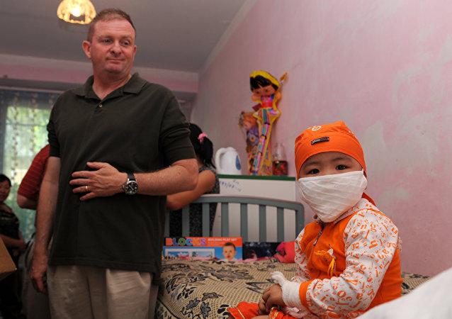 Paciente de cáncer infantil