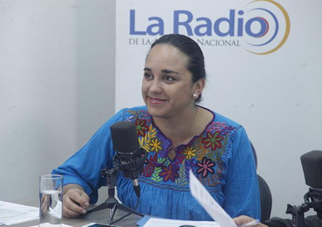 Gabriela Rivadeneira, presidenta de la Asamblea de Ecuador