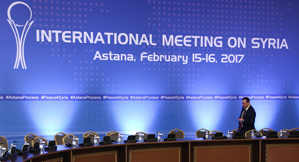 Reunión en Astaná por la paz en Siria (archivo)