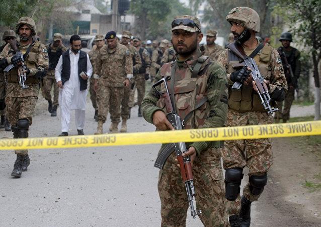 Soldados del Ejército de Pakistán (archivo)
