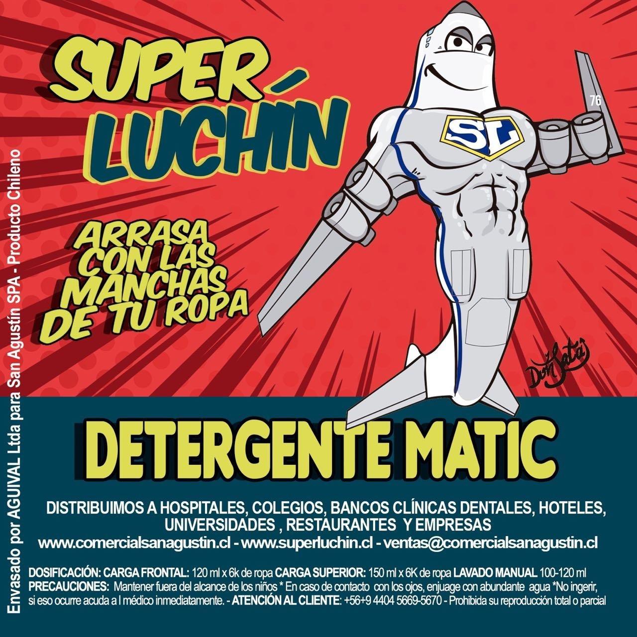 Detergente Súper Luchín